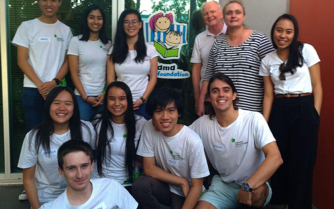 School Outreach crew Kevin Gallard & Bronwyn Sheehan - Pyjama Foundation