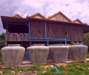 Jumbo Jars installed