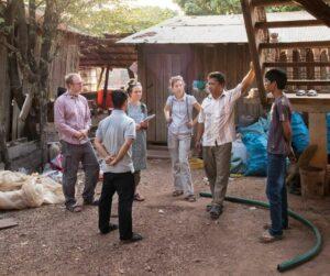 Speaking with Village Water Committee in Ksach Leav