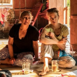 Stephanie (right) with fellow participant Leah (left) on the Solutions for Sustainable Development intensive in Cambodia (2019)