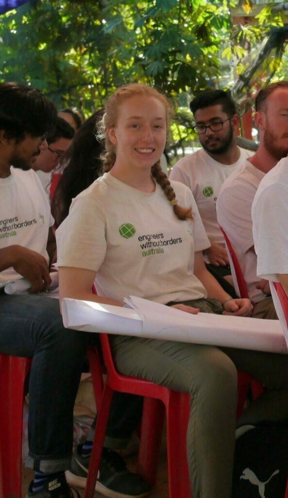 Adele van der Winden combining social justice and engineering at EWB's Design Summit in Cambodia
