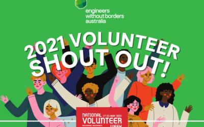 National Volunteer Week 2021 Shout Out
